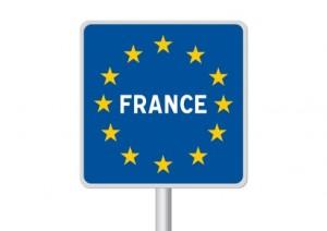 Panneau frontière France